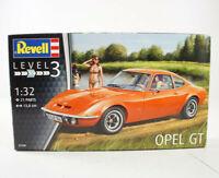 Revell Opel GT 1:32 Modelbausatz 07680 Level 3 Orange Kultauto Z-1856