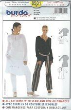 burda 8501 Misses' Blouse 8 to 20 Sewing Pattern