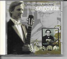 CHRISTOPHER PARKENING CELEBRATES SEGOVIA CD