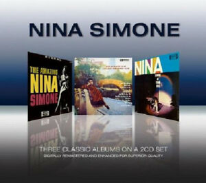 Nina Simone ‎– Three Classic Albums 2CD Real Gone 2010 USED