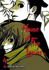 House of Five Leaves, Vol. 4 Ono, Natsume Paperback