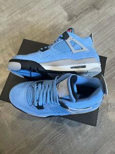 "New Air Jordan 4 Retro ""University Blue"" GS Size 6.5Y SHIPS NOW"