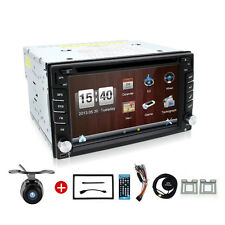 AUTORADIO Video Car GPS Navigation DVD VCD Player 2Din BLUETOOTH For Any Car+CAM