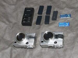 2 SONY Cybershot DSC-V1 (Für Stereo 3D Foto/Video)