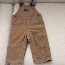 OshKosh 100% Cotton Brown Rust Corduroy Overalls...