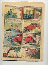 ACTION COMICS #15 (1939 DC COMICS) SUPERMAN COVERLESS COPY INCOMPLETE