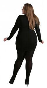 Pamela Mann 90 Denier Opaque Curvy Plus Size Tights(3 Colours / Sizes up to 5XL)