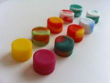 100 3ml silicone containers everyday storage non-stick FDA Grade Jar lip Balm