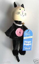"""CAT - in legno """"raccontare una storia"""" Finger Puppet-Fiesta Crafts-NUOVO di zecca!"""