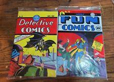 Detective Comics 27 and More Fun Comics 73 Loot Crate Reprint Facsimile