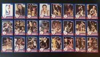 1984 STAR NBA 1983-84 AWARD WINNERS 24 CARD SET - BIRD, MAGIC, JABBAR, THOMAS +