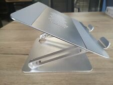 More details for laptop stand - awavo adjustable alluminium stand for laptops up to 15.6