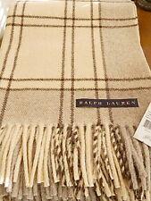 Ralph Lauren Home Chalet BRECKENRIDGE Oversize Throw Blanket Wool - NEW!