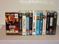 12 New Sealed Lot VHS Drama Rated R The Rock, Legends Of The Fall, Once Around
