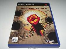 Red Faction II PS2 PAL *Complete*