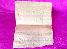 Manuscrit Orig ,Latin,Antonio Goriez,Vente Commercial,Olesa Demontserrat 1500