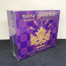 Pokemon XY Fates Collide ETB Elite Trainer Box Mega Alakazam New & Sealed