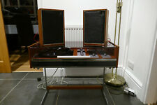 Deccasound Compact 3 Music Centre Vintage and stand with original speakers.1960s