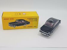VOITURE MINIATURE 1/43 DINKY TOYS ATLAS OPEL REKORD TAXI REF 546