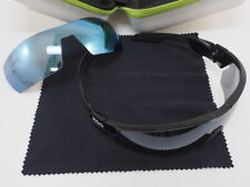 Kask KOO Open Cube Cycling Sunglasses Black w/ Gray & Blue Mirror Lenses Small