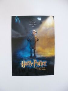 New Warner Bros Studio Tour Harry Potter and Chamber of Secrets Dobby Postcard