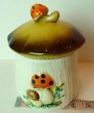 Sears Merry Mushroom canister small ceramic jar