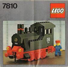 Lego Trains 7810 Push-Along Steam Engine NEW SEALED Cellophane 1980'