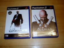 Hitman 2 Silent Assassin & Contracts - Sony PS2 - UK PAL video games - complete