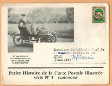 1947-Enveloppe/Document-Algerie Via Tunisie**Dion-Bouton-Landanlet-Yv.Préo.18
