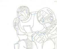 Teen Titans Animated Series Original Drawing-Cyborg
