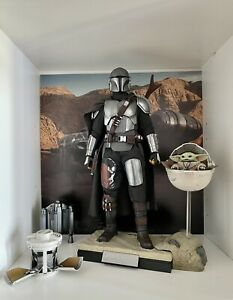 (FR) Star Wars - Hot Toys TMS015 - The Mandalorian And The Child Deluxe 1/6 .