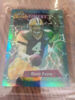 Brett Favre 1995 Topps Finest Jumbo Refractor #5 PSA graded 6 Rare card