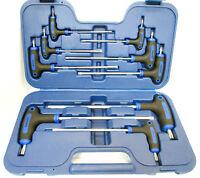 US PRO 9pc T Handle Torx / Star /  Set T10 - T50 Long Short Allen Key 1613
