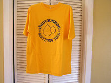 Banthongyord Thailand Badminton Club School BBS Yellow Men's Shirt Size 2XL XXL
