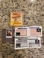 The Magic Of Scheherazade ( Nintendo Entertainment System,1989 ) WITH MANUAL