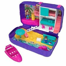 Polly Pocket Hidden Places Beach Vibes Backpack Girls Toy Play Set Christmas