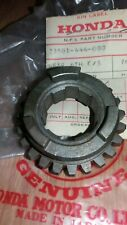NOS HONDA CR 125 R 1979 1980 1981 GEAR COUNTER SHAFT 6TH 23501-444-010 ELSINORE