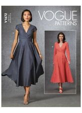 Vogue Designer Schnittmuster V1672, Kleid, sizes 6 - 14,  Gr. 32 - 40