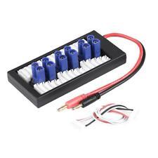 2-6S LiPo Batterie Adaptateur de charge parallèle Carte avec connecteurs EC5