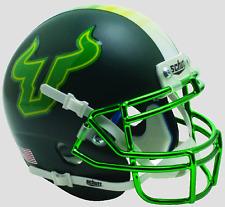 SOUTH FLORIDA BULLS NCAA Schutt AiR XP Full-Size REPLICA Football Helmet USF