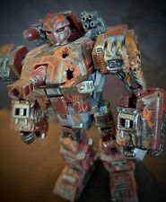 CUSTOM TRANSFORMERS - Custom Painted, Distressed with War Wounds Deluxe WARPATH