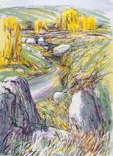 Dealer or Reseller Listed Yellow Original Art