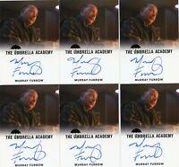 VL The Umbrella Academy season 1 Autograph card Murray Furrow as Syd