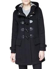 Burberry Brit Finsdale Wool Duffle Coat Jacket size 6 EU40 $995 NEW AUTHENT