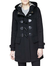 2016 Burberry Brit Finsdale Wool Duffle Coat Jacket size 12 EU46 $1095 NEW AUTH
