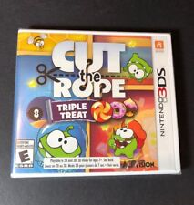 Cut the Rope [ Triple Treat ] (3DS) NEW