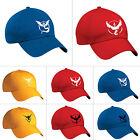 Pokemon Go Baseball Cap Team Mystic InstInct Valor Pocket Monster Cosplay Hat