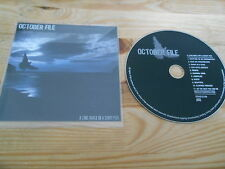 CD Punk October File - A Long Walk On A  (11 Song) Promo GOLF / PLASTIC HEAD