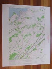 Clayton New York 1960 Original Vintage USGS Topo Map