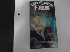 LITTLE SHOP OF HORRORS (vhs)Jack Nicholson 1st motion picture performance NEW